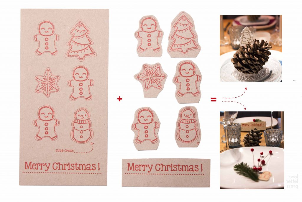 bijzondere kerstkaart-cutCreate- sneeuwman-rood-kerstster-kerstboom-kerstdiner-duurzaam-recycle