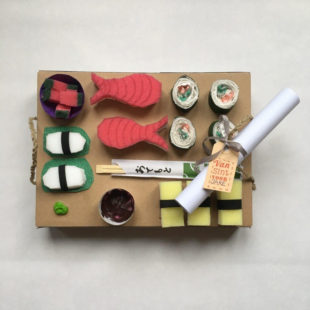 Sushi surprise Sinterklaas Makkelijk en snel